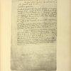 Reproduction de la dernière page du brevet n° 117.574 pris en France le 16 février 1876, par Penaud et Gauchot, pour «Un aéro-plane ou appareil aérien volant».