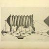 Projet de ballon dirigeable rotatoire de Pierre Ferrand (1835).