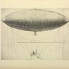 Le premier projet de ballon dirigeable à vapeur de Henri Giffard (1851).