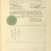 Chèque de 25,000 fr. envoyé au frères Wright pour confirmer l'option qui venait d'être transmise par M. Arnold Fordyce au Ministère de la Guerre.