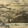 Un combat d'aéroplanes. Eau forte par Maurice Busset.