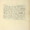 Autographe de M. le Maréchal Foch.
