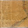 Map showing the high and low water mark and the original city grants of lands under water made to various parties from 1686 to 1873, extending from Battery to Fifty-first Street, Hudson and East Rivers, New York City, also the several pier and bulkhead lines established from 1750 to 1873
