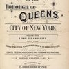 Atlas of the borough of Queens city of New York Vol. 2, Long Island City first ward. [Title Page]