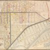 Queens, Vol. 2, Double Page No. 6; Part of Long Island City Ward One (Part of Old Ward 2 & 4) Sub Plan; [Map bounded by Harold Ave., Middleburg Ave.; Including Bragaw St., Lowery St., Van Buren St., Van Pelt St.]; Part of Long Island City Ward One (Part of Old Ward 2 & 4). [Map bounded by 4th Ave., Rapel Ave., 5th Ave., 6th Ave., 7th Ave., 8th Ave., 9th Ave., 10th Ave., Steinway Ave., 11th ave., 12th Ave., 13th Ave., 14th Ave., 15th Ave., 16th Ave., 17th Ave., 18th Ave., 19th Ave., Jamaica Ave., North Woodside, Newtown, Woodside Ave., Broadway, Graham Ave., Pierce Ave., Washington Ave., Jackson Ave., Harold Ave., Dreyer Ave., Pennsylvania R.R., Barnett Ave., Middleburg Ave., Laurel Hill Ave.; Including Briell St., Bartow St., Blackwell St., Pomeroy St., Kowenhoven St., Albert St., Winans St., Grace St., Stemler St., Luyster St., Titus St., Oakley St., Baldwins St., Cabinet St., Wallace St., Hobart St., Dickinson St., Stone St., Fitting St., Heiser St., Heiser St., Gosman St., Carolin St., Bliss St., Grove St., Locust St., Madden St., Van Buren St.]
