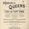Atlas of the Borough of Queens City Of New York complete in three volumes. Volume Three Third Ward. Flushing. [Title Page]