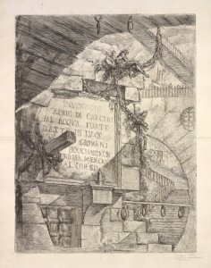 The Charrington set : a collection of prints by Giovanni Battista Piranesi