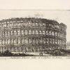 Anfiteatro Flavio detto il Colosseo in Roma.