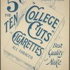 College Cuts cigarettes