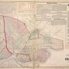 Index to map of the city of Brooklyn and East New York. [Front]