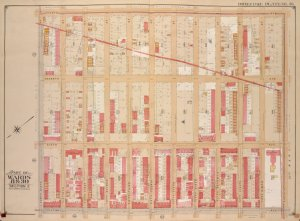 Brooklyn, Vol. 1, Double Page plate No. 36; Part of Wards 8 & 30, Section 3; [Map bounded by 8th Ave., 60th St.; Including 5th Ave., 49th St.]