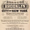 Atlas of the borough of Brooklyn City of New York. The First Twentyeight Wards complete in Four Volumes. Three additional volumes for the Four new Wards will complete the entire borough. Volume One, Embraces Sections 1, 2, 3 & 4. Volume Two, Embraces Sections 5, 6 & 7. Volume Three, Embraces Sections 8, 9, 10 & 11. Volume Four, Embraces Sections 12, 13 & 14. Newly constructed and based upon official Maps and Plans on file in the Municipal Building and Registers Office (Hall of Records). Supplemented by Careful Field measurements and observations, [Title Page]