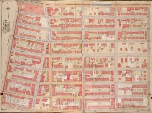 Brooklyn, Vol. 2, Double Page Plate No. 24; Part of Ward 24, Section 5; [Map bounded by Atlantic Ave., Brooklyn Ave.; Including  St. Johns PL. (Douglass St.), Franklin Ave.]