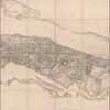 Facsimile of the unpublished British head quarters coloured manuscript map of New York & environs
