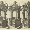 Three examples of ornate wells