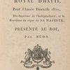 Almanach royal d'Hayti; pour l'année bissextile 1820, ....  [Title page]