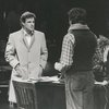 Brad Davis and unidentified actors in The Public Theater stage production The Normal Heart