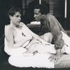 Dorian Harewood and Peter Evans in a scene from Streamers
