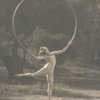 "Doris Humphrey in ""Scherzo Waltz"", also known as ""Hoop Dance"""