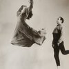 Doris Humphrey (in leap) and Charles Weidman