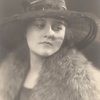 Pauline Lawrence in hat and fur