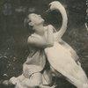 Anna Pavlova with her pet swan, Jack