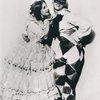 """Vaslav Nijinsky and Lydia Lopokova in """"Le Carnaval."""
