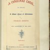 A Christmas Carol. [Title page of 1849 edition]