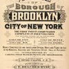 Atlas of the borough of Brooklyn City of New York. The First Twentyeight Wards complete in Four Volumes. Four additional Volumes for the Four new Wards will complete the entire Borough. Volume Five, Embraces Sections 15 & 16. Volume Six, Embraces Sections 17, 18 & 19. Volume Seven, Embraces Sections 20, 21 & 22. Volume Eight, Embraces Sections 23, 24 & 25. Newly constructed and based upon official maps and plans on file in the municipal building and registers office (Hall of records) Supplemented by careful field measurements and observations. By and under the direction of Hugo Ullitz, C. E., Published by E. Belcher Hyde, 97 Liberty Street, Brooklyn, 1906, Volume Five. [Title Page.]