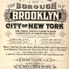 Atlas of the borough of Brooklyn City of New York. The First Twentyeight Wards complete in Four Volumes. Four additional Volumes for the Four new Wards will complete the entire Borough. Volume Five, Embraces Sections 15 & 16. Volume Six, Embraces Sections 17, 18 & 19. Volume Seven, Embraces Sections 20, 21 & 22. Volume Eight, Embraces Sections 23, 24 & 25. Newly constructed and based upon official maps and plans on file in the municipal building and registers office (Hall of records) Supplemented by careful field measurements and observations. By and under the direction of Hugo Ullitz, C. E., Published by E. Belcher Hyde, 97 Liberty Street, Brooklyn, 1905, Volume Six. [Title Page.]