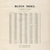 Block Index. [Front]