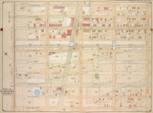 Brooklyn, Vol. 6, Double Page Plate No. 9; Part of Ward 30, Section 17; [Map bounded by 58th St., 12th Ave.; Including 67th St., 8th Ave.]