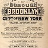 Atlas of the borough of Brooklyn City of New York. The First Twentyeight Wards complete in Four Volumes. Four additional Volumes for the Four new Wards will complete the entire Borough. Volume Five, Embraces Sections 15 & 16. Volume Six, Embraces Sections 17, 18 & 19. Volume Seven, Embraces Sections 20, 21 & 22. Volume Eight, Embraces Sections 23, 24 & 25. Newly constructed and based upon official maps and plans on file in the municipal building and registers office (Hall of records) Supplemented by careful field measurements and observations. By and under the direction of Hugo Ullitz, C. E., Published by E. Belcher Hyde, 97 Liberty Street, Brooklyn, 1907, Volume Seven. [Title Page.]