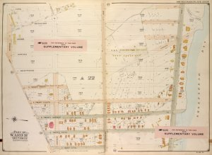 Brooklyn, Vol. 7, Double Page Plate No. 39; Part of Ward 31, Section 22; [Map bounded by Ford St., Sheepshead Bay, E. 25th St.; Including Jerome Ave., Voorhies Lane, Avenue Y]