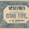 Specimen of Leavenworth's patent wood type, title page