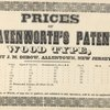 Prices of Leavenworth's patent wood type: cut by J. M. Debow, Allentown, New Jersey, page 37
