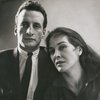 George C. Scott and Colleen Dewhurst during staged reading of Antony and Cleopatra