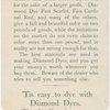Diamond Dyes nursery rhymes pictorial.