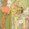 Mamma bear checks the beds.]