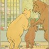 [The bears watch from the window.]
