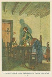 """I think thou callest thyself Miles Hendon, if I heard thee aright?"""
