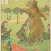 Bear gets measured.]