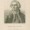 Montcalm de St. Veran (L.F. Marquis De) Commander en chef dans l'Amérique septle.  Né au Chäteau de Cardiac, 1712 + à Quebec, 1759