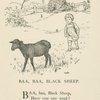 Baa, baa, black sheep.