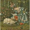 [The prince with the wounded hind]