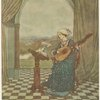 "[""She played upon the ringing lute, and sang to its tones""]"