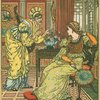 Princess Belle-Etoile with old woman.]
