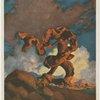 Cadmus sowing the dragon's teeth]