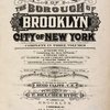 Atlas of the borough of Brooklyn City of New York. The First Twentyeight Wards complete in Three Volumes. Volume One, Containing the first 28 wards. Volume Two, Flatbush and New Utrecht, (29th & 30th Wards.) Volume Three, Gravesend and Flatlands, (31st & 32nd Wards). Based upon official maps and plans on file in the various city offices. Supplemented by careful field measurements and observations. By and under the direction of Hugo Ullitz, C. E., Published by E. Belcher Hyde, 97 Liberty Street, Brooklyn, 5 Beekman St., Manhattan, 1917, Volume Two. [Title Page.]
