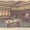 A craftsman living room, showing recessed window seat, opp. page 66
